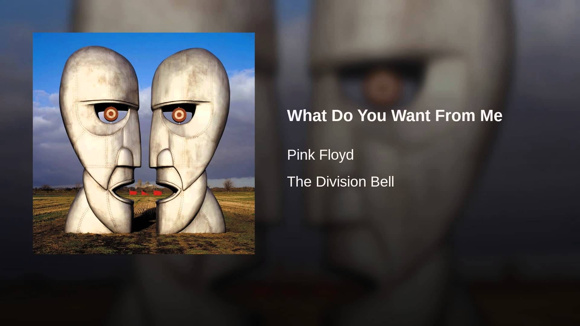 What Do You Want From Me | Pink floyd keep talking, High hopes pink floyd, Pink  floyd
