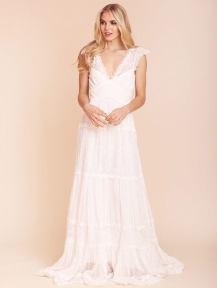 gardenia gown by kite and butterfly @ lovely bride nyc | Goddess ...