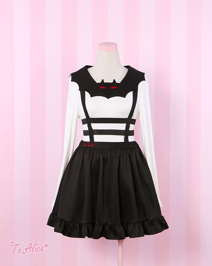 To Alice] C335- small bat witch Dress - Taobao   Creepy Cute TaoBao ...
