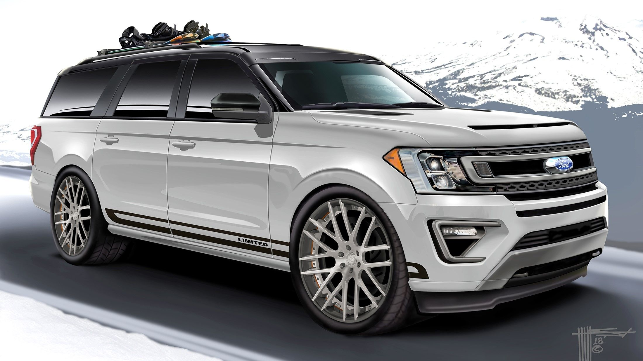 2018 Ford Destination Expedition By Hulst Customs Ford