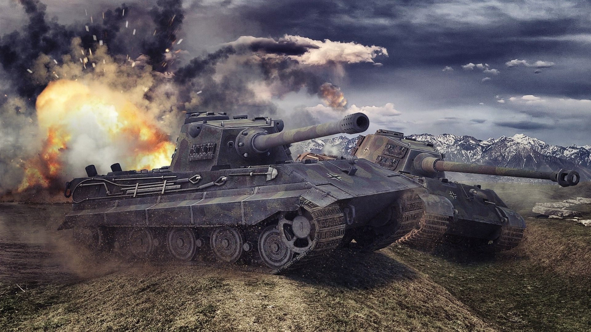 Tiger Tank Wallpapers Group With Items World Of Tanks Tank Wallpaper Tank
