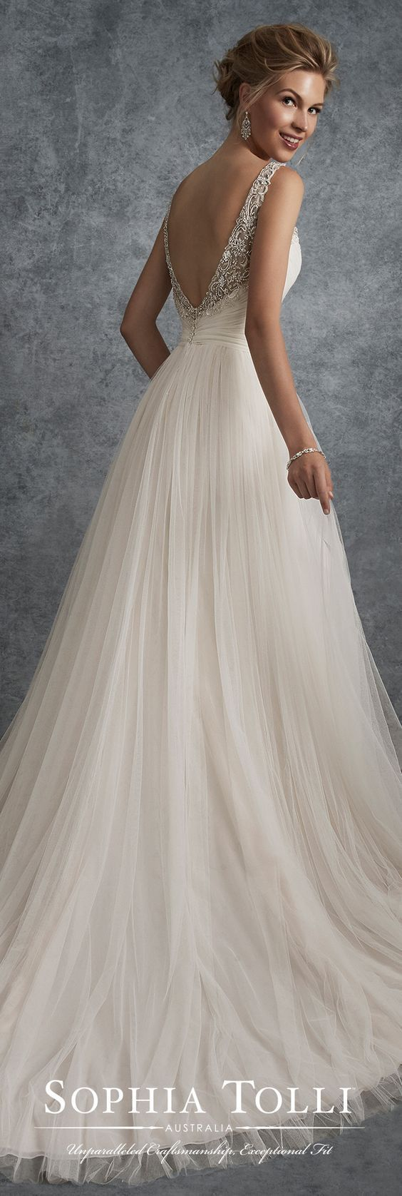 Big pretty wedding dresses  Featured Dress Sophia Tolli Wedding dress idea weddingdresses