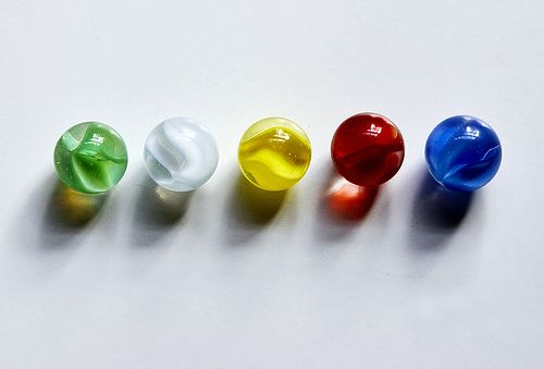Marbles are surprisingly well-suited for photography Their small