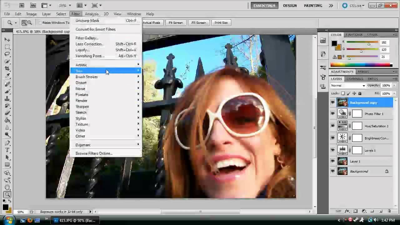 Photoshop Cs5  How To Touch Up Amateur Photos And Make Them Look Profes