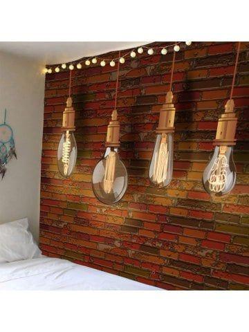 waterproof bulb brick wall tapestry parement mural mur on walls coveralls website id=88195