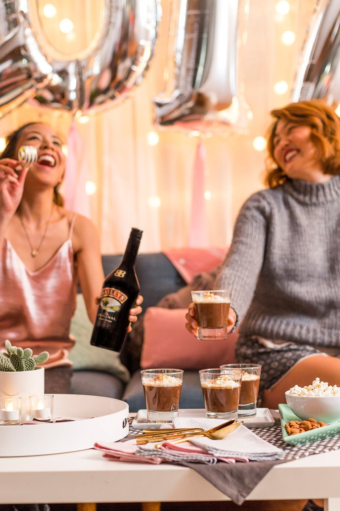 Lazy Girl's Guide to a SorryNotSorry NYE's Night In