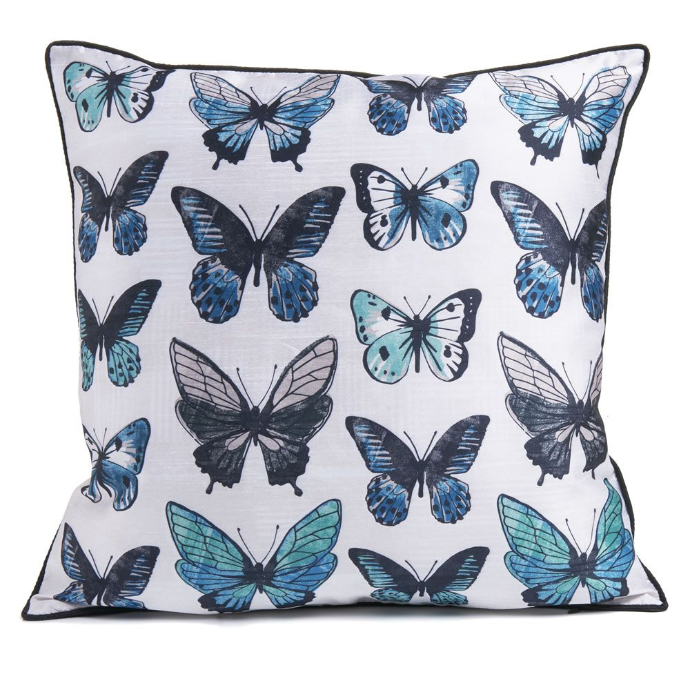 Wilko Butterfly Cushion 43 x 43cm (With images
