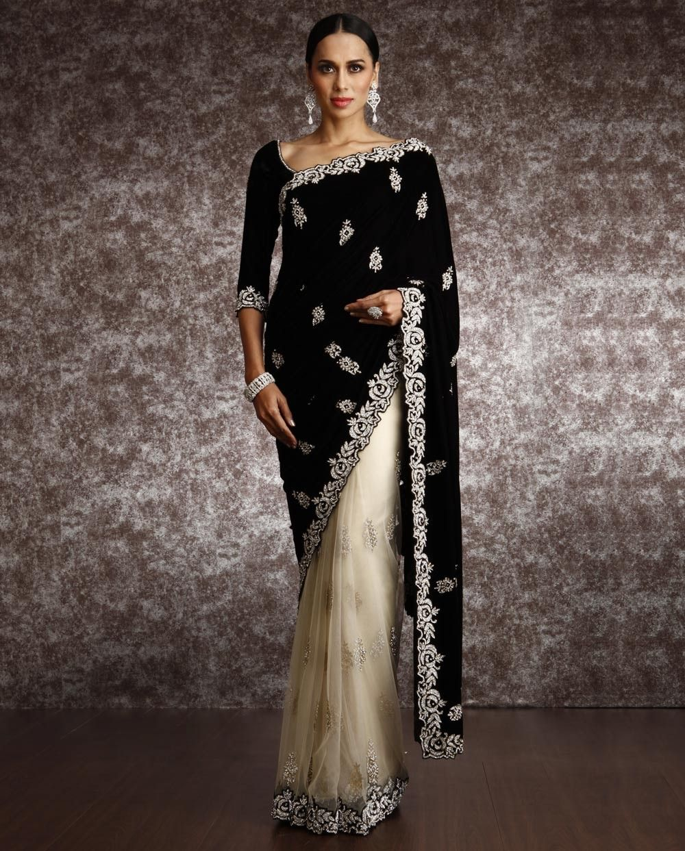 Vestidos de fiesta hechos con sari