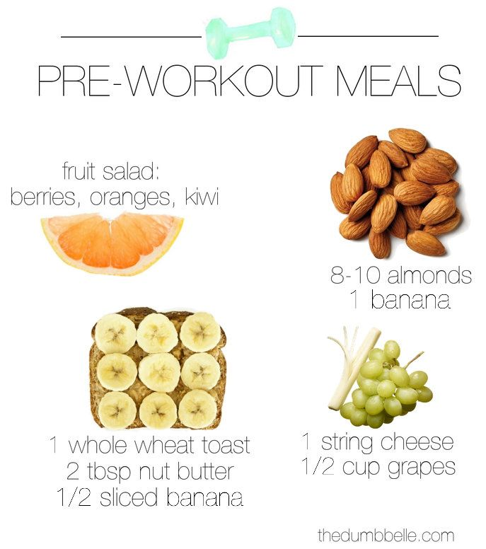 What To Eat Pre-Workout - The Dumbbelle