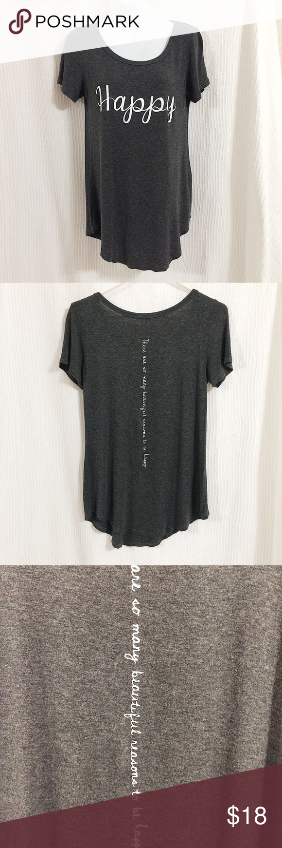 French Pastry Happy Soft T Shirt In Grey In 2020 Clothes Design Fashion Fashion Design