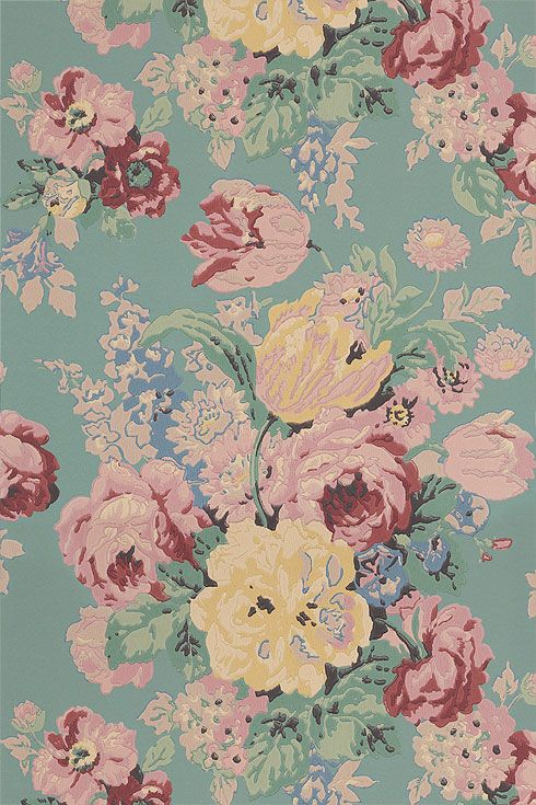 Google Image Result For Http Www Annafrench Co Uk Images Wild Flora Bou 05 20 Jpg French Wallpaper Anna French Wallpaper Floral Wallpaper