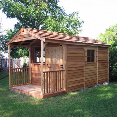 Cedar Shed Ch81 Clubhouse Shed Cedar Shed Building A Shed Shed House Plans