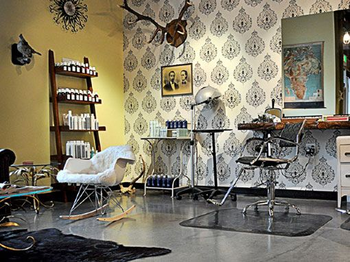 Chandelarrow Creative New Vintage Beauty Lounge With Images