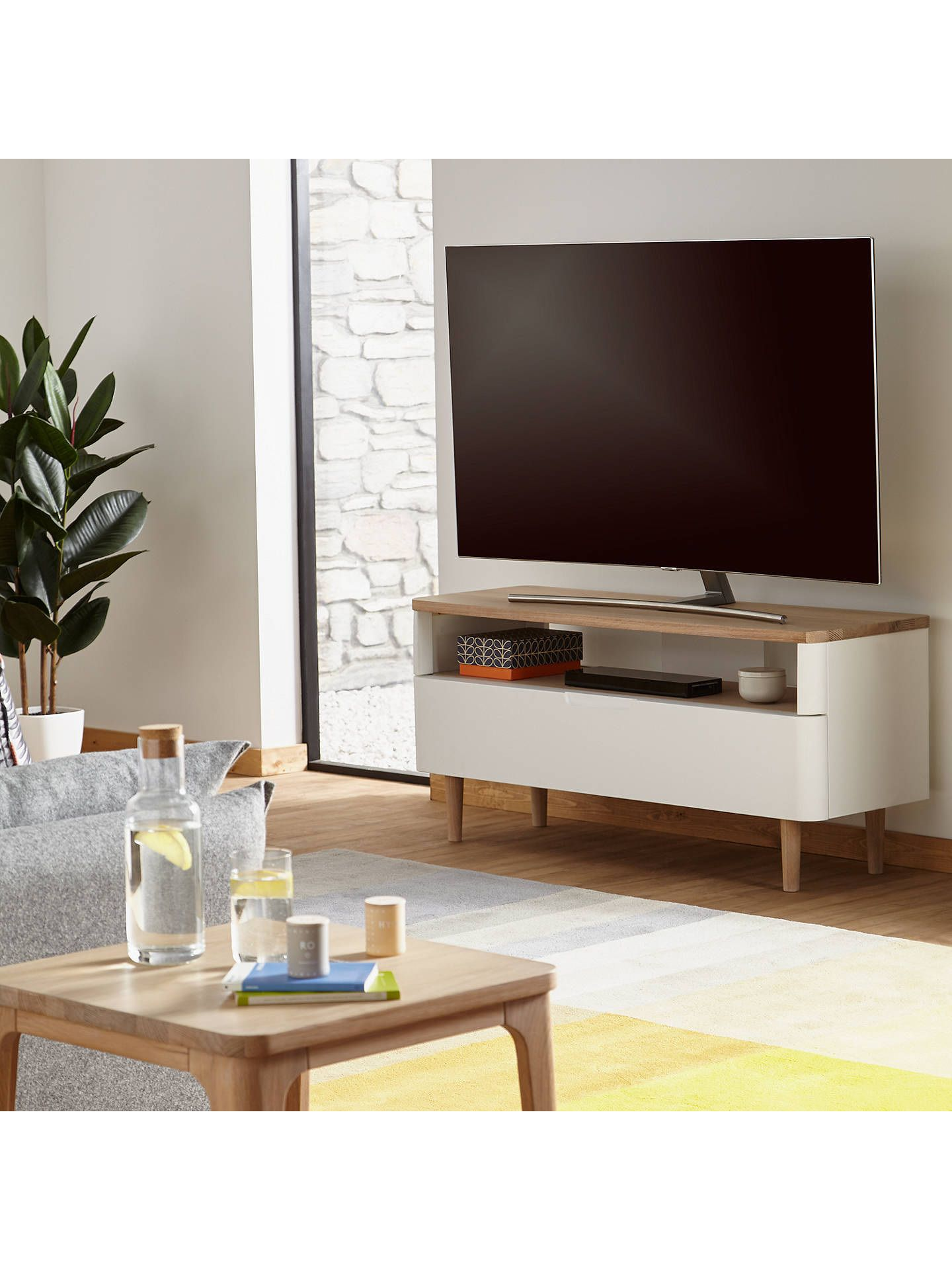 Tv Cabinet And Coffee Table Set 2021 Tv Stand Curtains With Blinds White Oak [ 1920 x 1440 Pixel ]