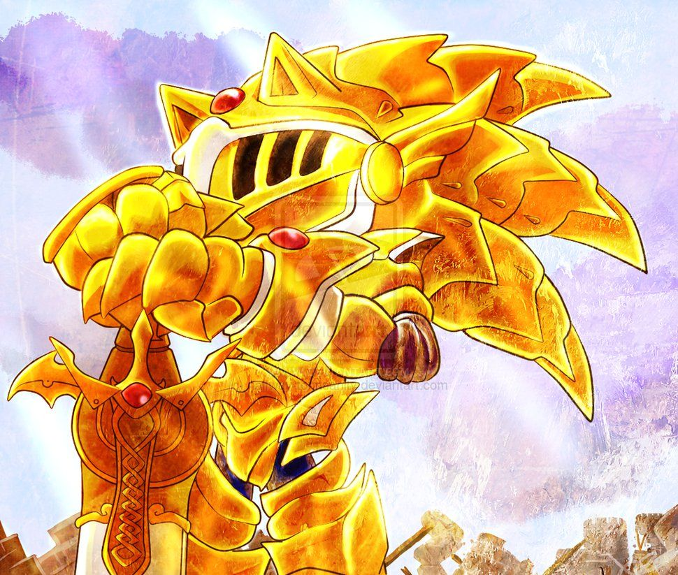 Excalibur Sonic By Halfway To Insanity On Deviantart Sonic Hedgehog Art Sonic Fan Art
