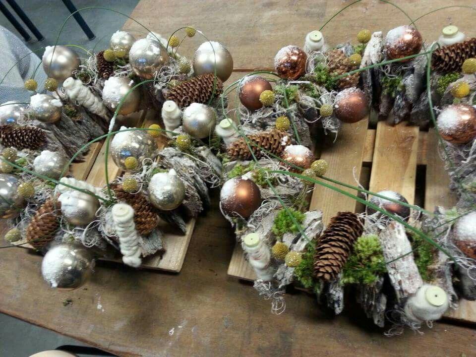 Kerst aankleding AOC Lochem 2014