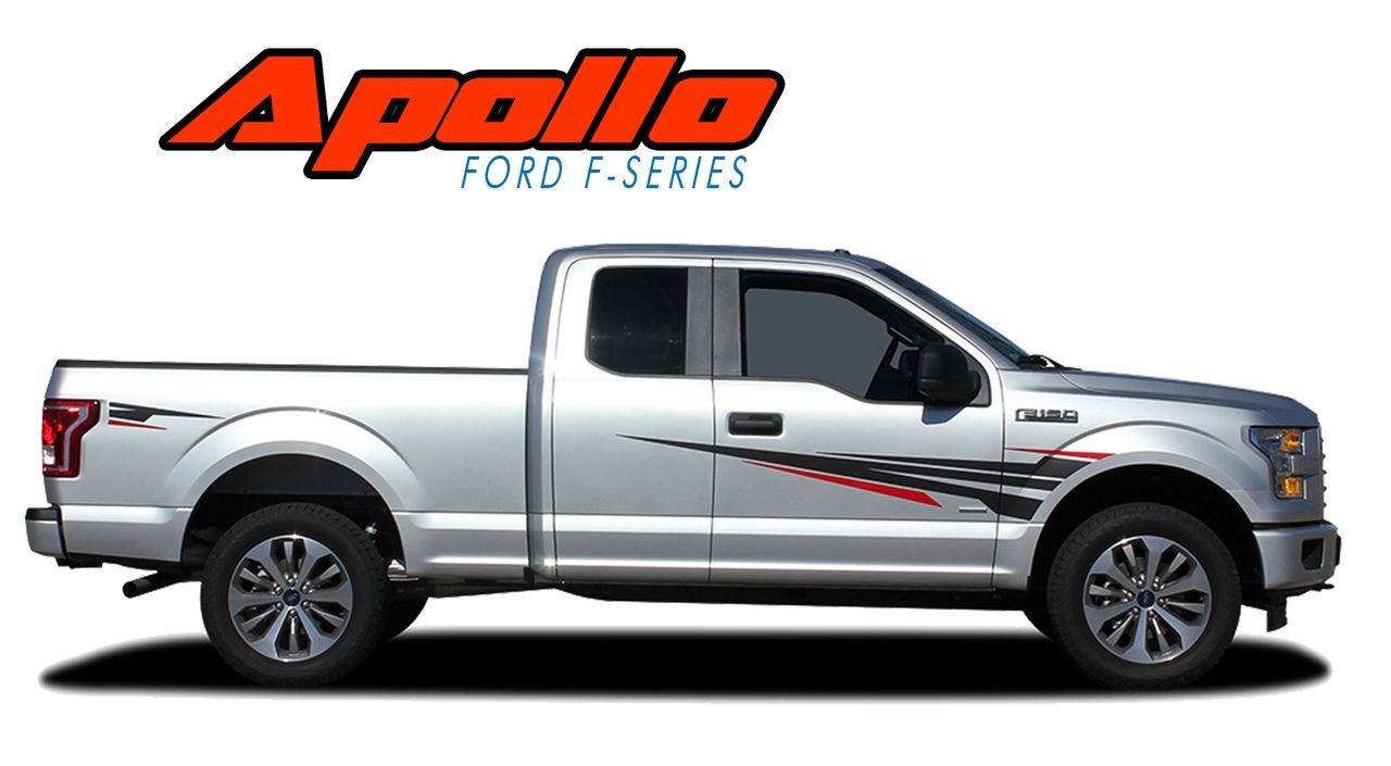 Ford F APOLLO ACCENTS Vinyl Graphics - Vinyl graphics for trucks