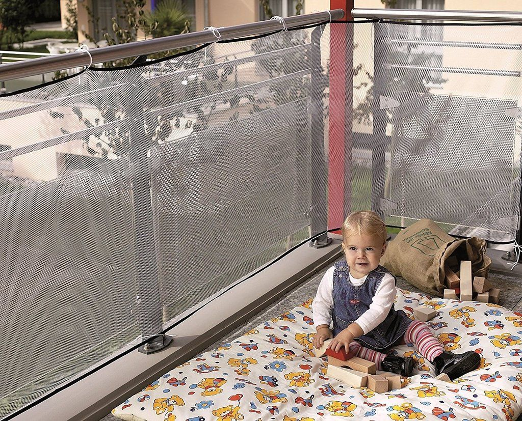 Reer Protection Netting For Balcony 94 Cm X 294 Cm Deck