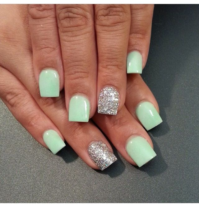 Pin by monika wolford on nail obsessed pinterest manicure mint nails are a sure way to stay in sync with the ongoing seasonal trends this summer we have gathered 45 cute mint nail art ideas prinsesfo Image collections