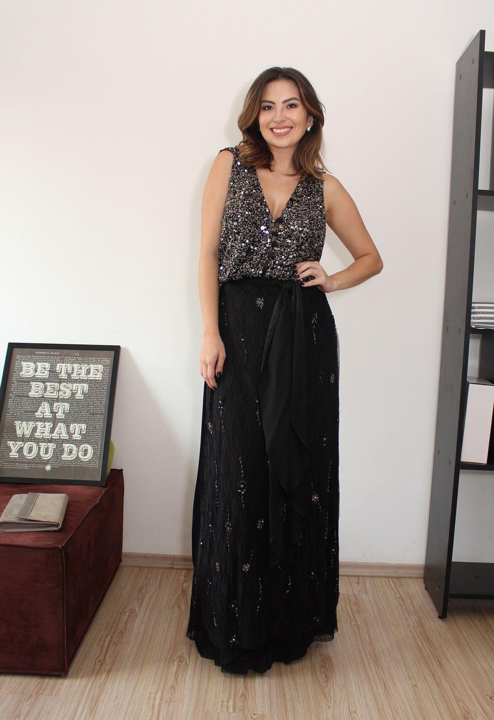 3595a3420 Seu vestido de festa lindo, estiloso e super barato – Veja como! Vestido de