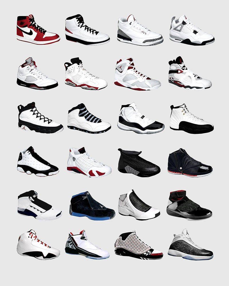 Nike Air Jordan - Jordan Poster - Nike cartel - cartel de ...
