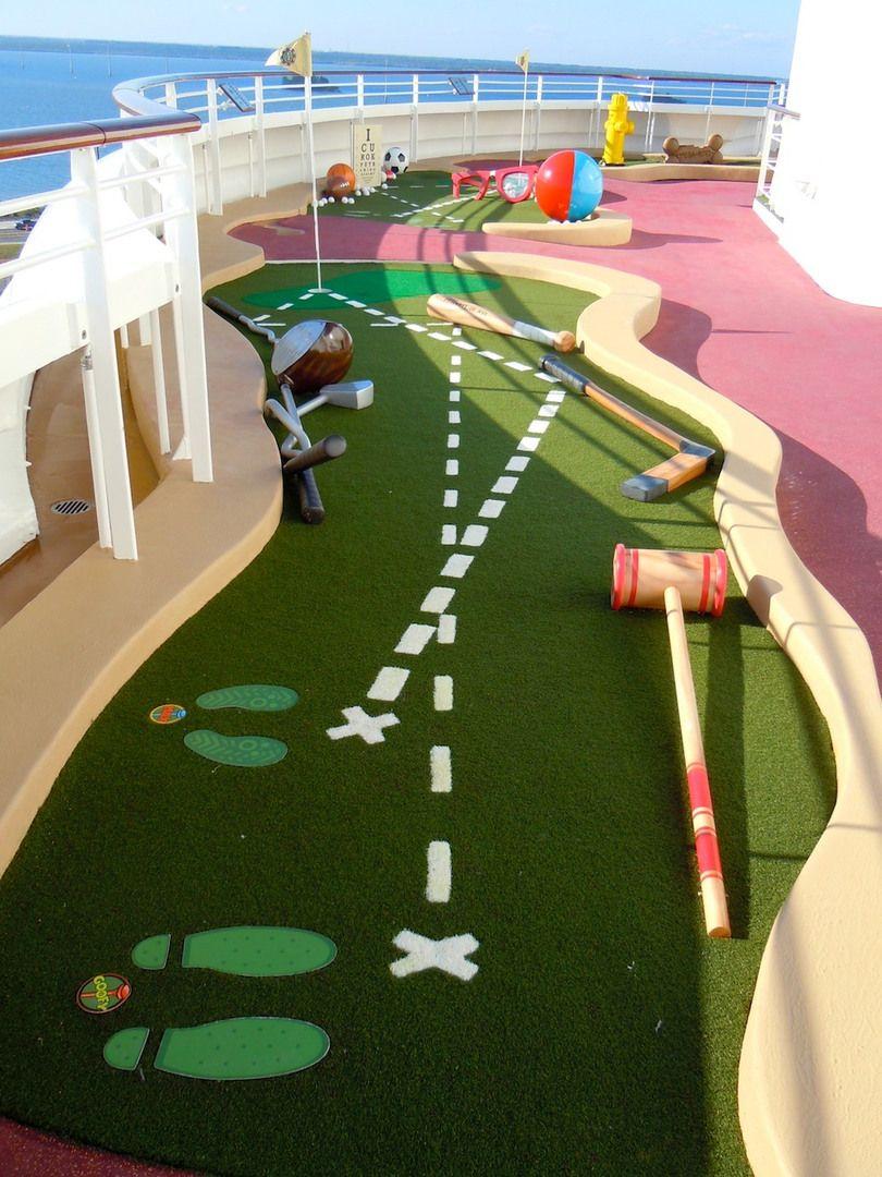 Goofy's Mini Golf Mini golf, Adventure golf, Miniature golf