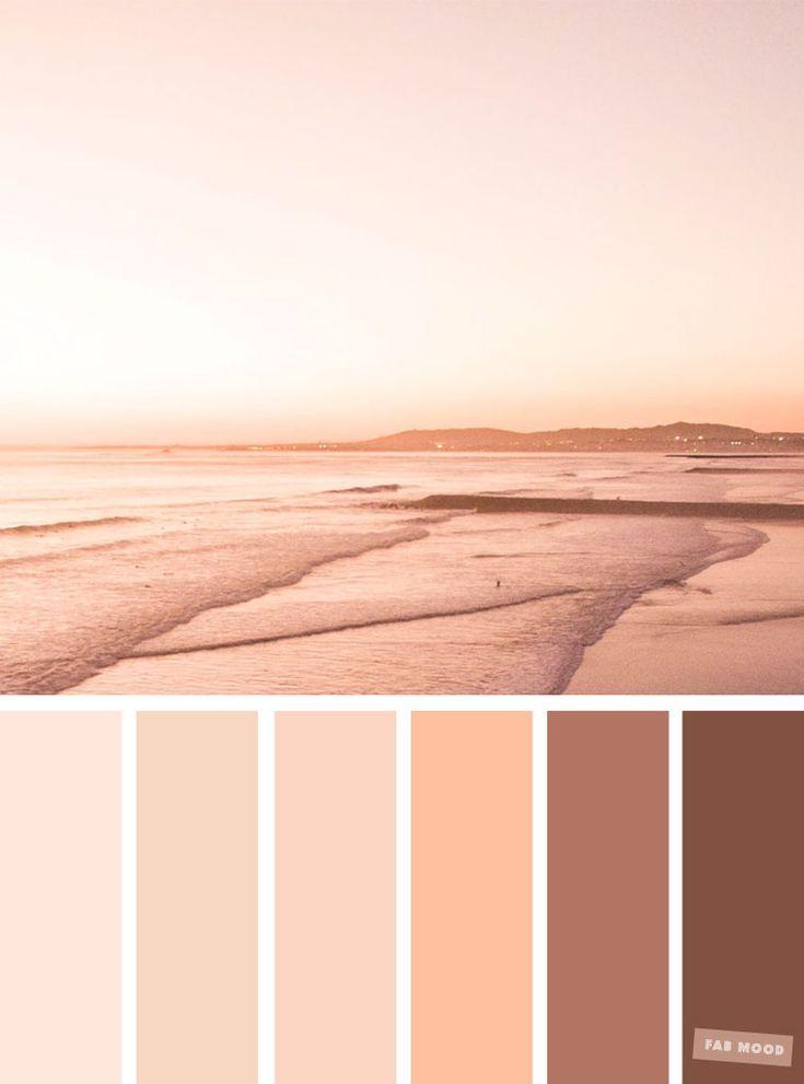 Blush tones : Pretty blush color schemes