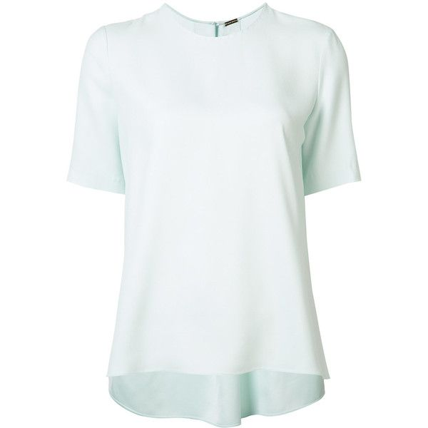 Limited Outlet High Quality Adam Lippes Bell Sleeve Crepe Top Discount Limited Edition jX8s8SDPW
