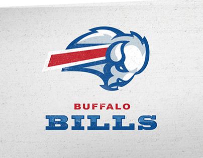 Logo Redesign For The Buffalo Bills Concept Art Buffalo Bills Logo Logo Redesign Buffalo Logo