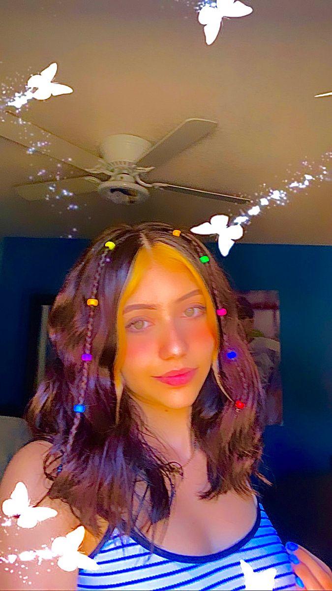 Beaded Haaair In 2020 Indie Hair Hair Styles Skater Girl Hairstyles