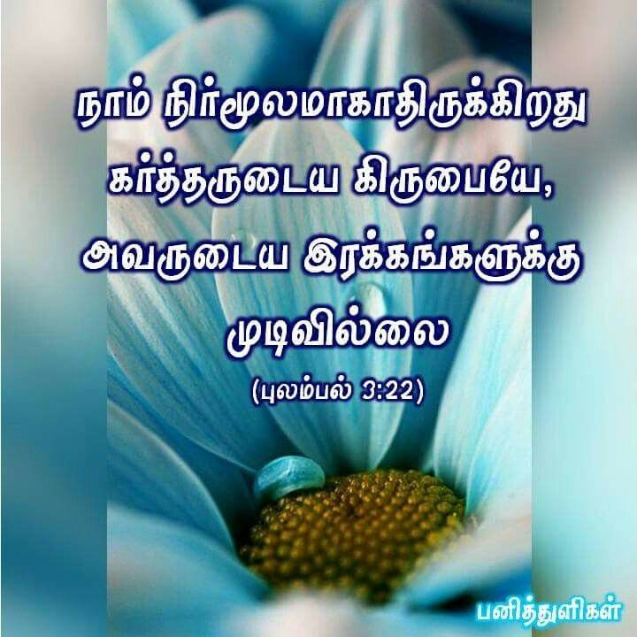 today bible word in tamil