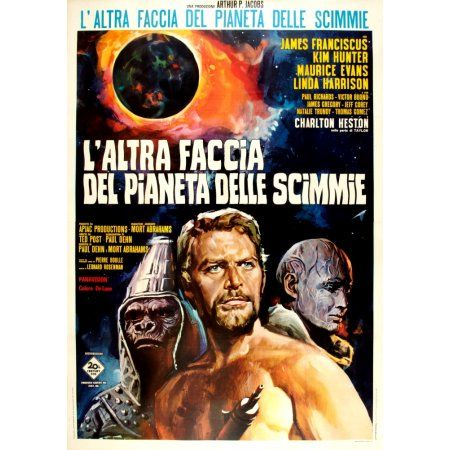 Beneath The Planet Of The Apes Canvas Art 24 X 36 Science Fiction Movie Posters Planet Of The Apes Science Fiction Movies
