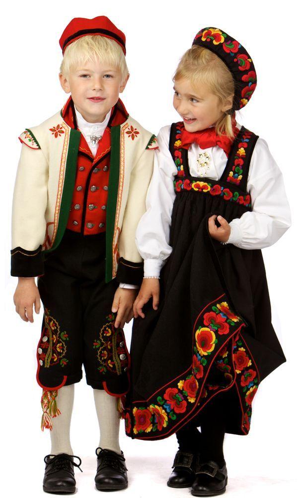 Hallingdal kids, Norway. Hallingdal is a valley and ...