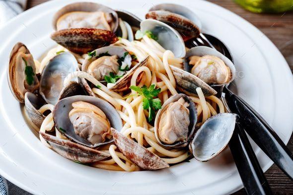 Seafood Pasta Stock Photo - Image: 62904847  |Authentic Italian Seafood Pasta Recipes