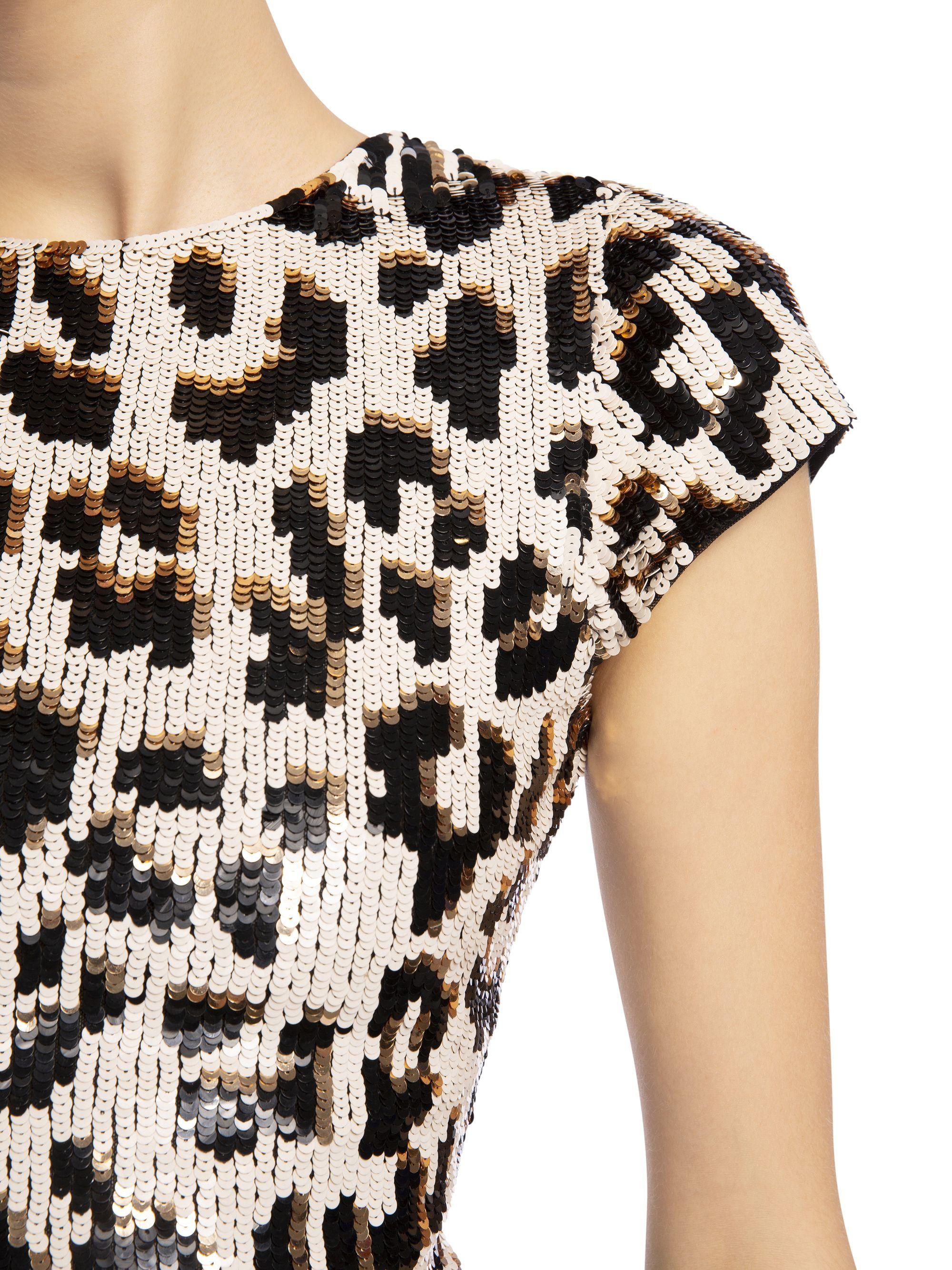 8bd5368185d5 Nat sequin leopard midi dress in 2019