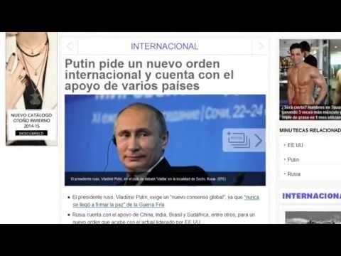 Resultado de imagen de putin pide nuevo orden mundial