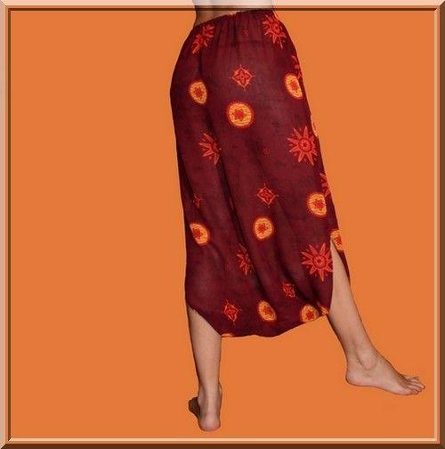 patron de la jupe sarouel femme et enfant bisounours le monde des harem pants sewing. Black Bedroom Furniture Sets. Home Design Ideas