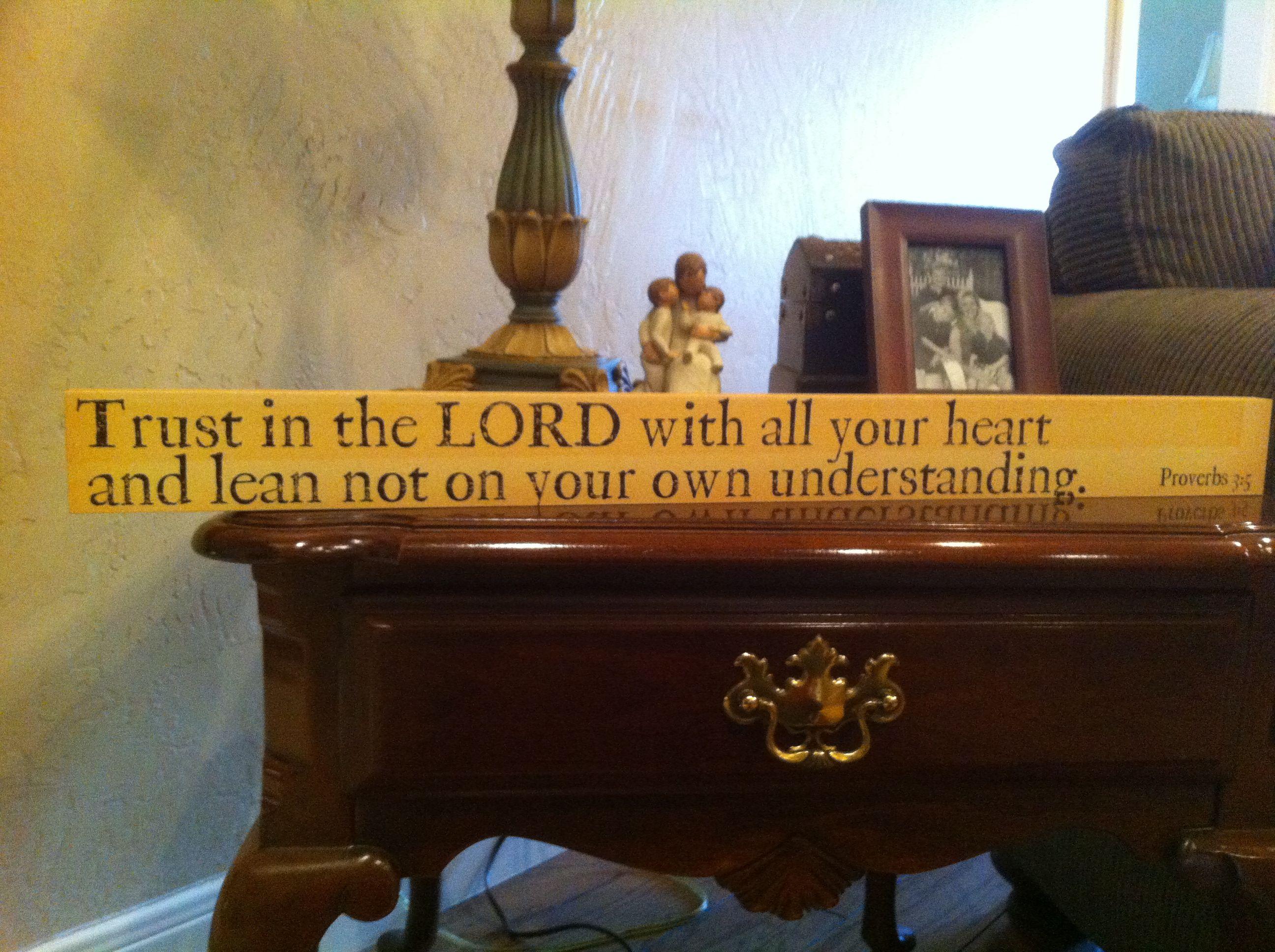 con's favorite scripture