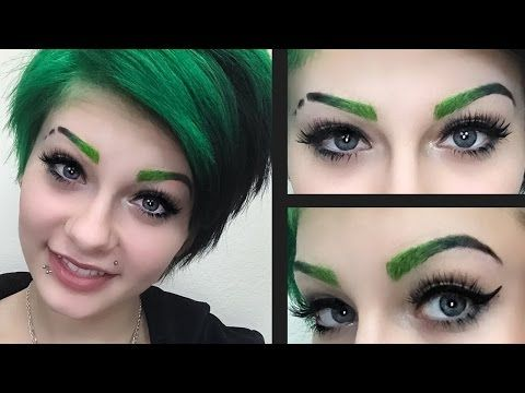 ombre eyebrows tutorial heythereimshannon
