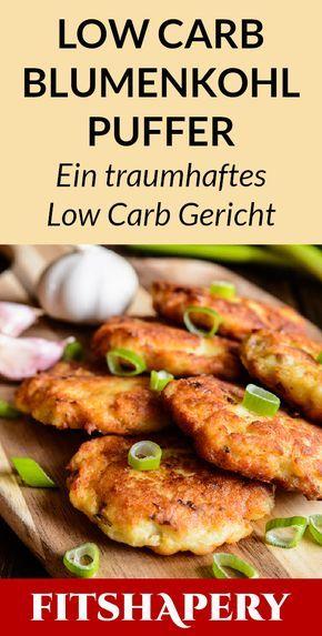 Queste frittelle di cavolfiore sono a basso contenuto di carboidrati, mega deliziose e sono perfette per …
