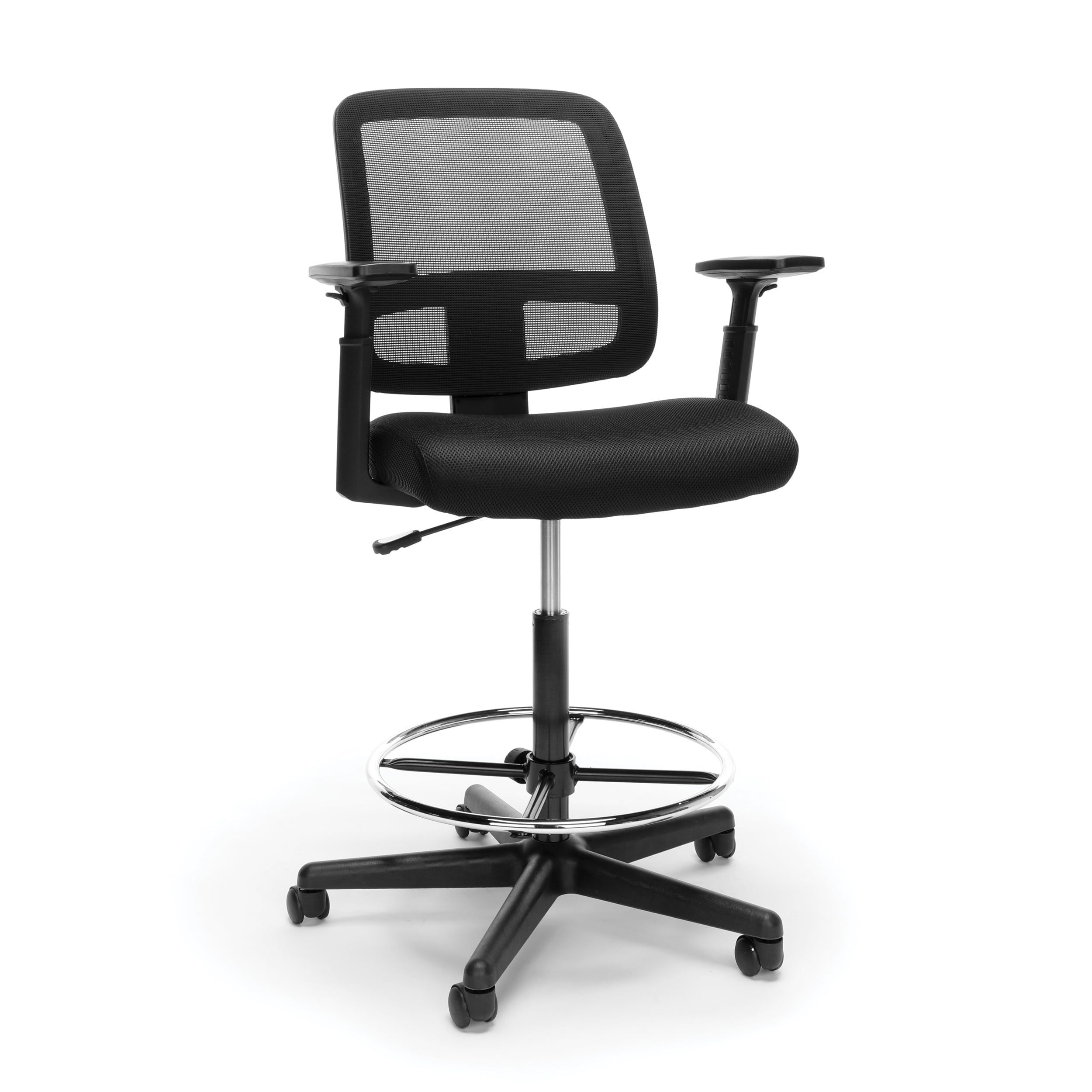 Model E39 Essentials by OFM Mesh Back Stool with Adjustable Arms