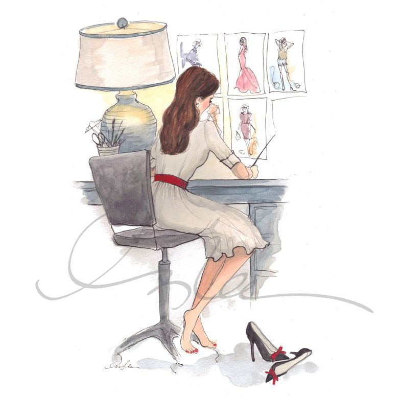 Self Portrait by #Inslee #illustration