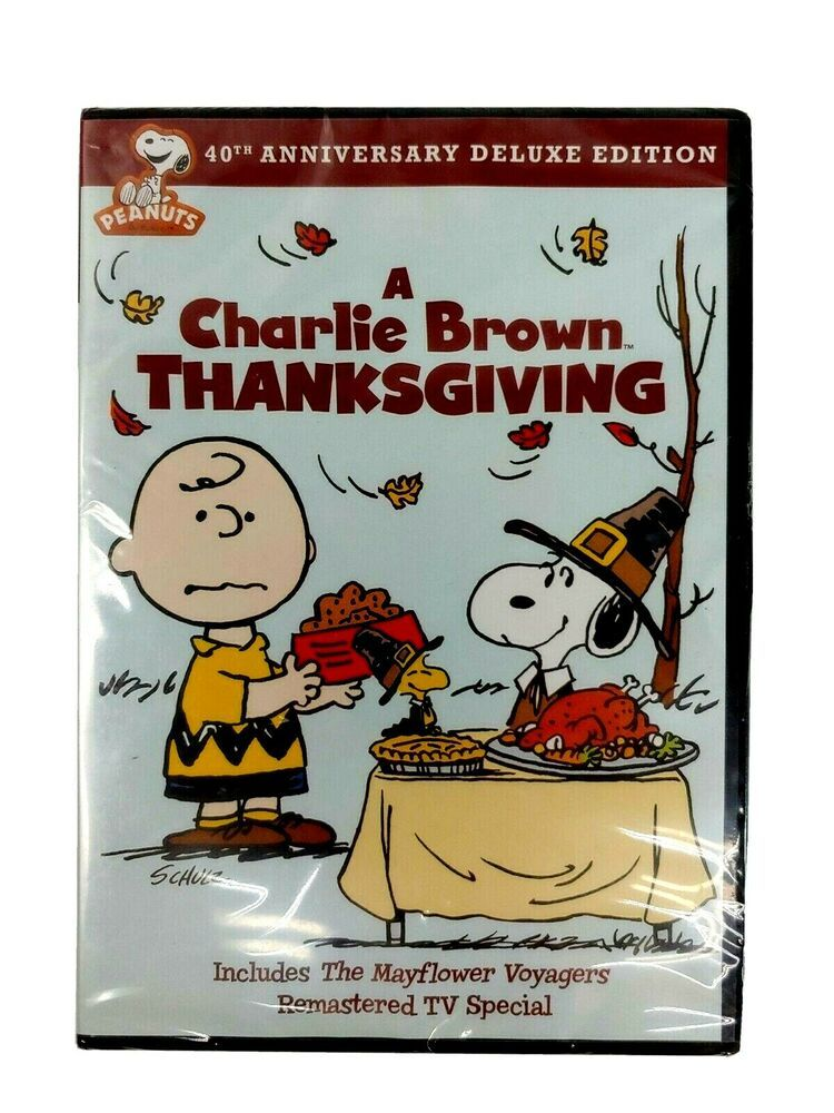 A Charlie Brown Thanksgiving Dvd Animation 40th Anniversary Edition New Sealed 883929353934 Ebay In 2020 Charlie Brown Thanksgiving Charlie Brown Thanksgiving Movies For Kids