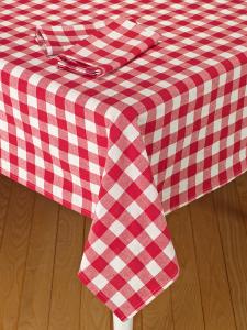 Tavern Check Cotton Tablecloth Table Cloth Durable Table Checkered Tablecloth