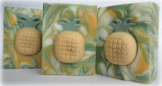 Oil & Butter - Pina Colada Twist Soap