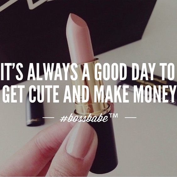 Thanks @bossbabe #bossbabe #bossbabequotes #quoteoftheday #makemoney #makeup #lookcute #confidence