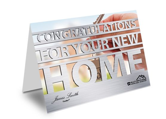 Real Estate Greeting Cards Creative Real Estate Greeting Card - microsoft word greeting card template