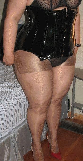 Bbw In Panty Hose