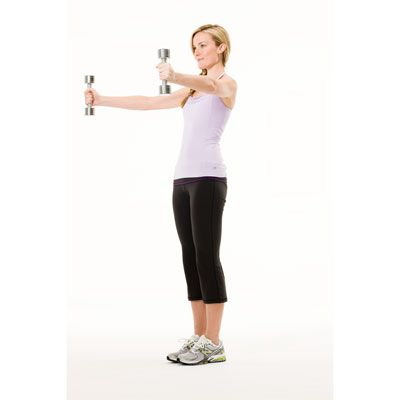 mix and match totalbody workout  shoulder raises upper body