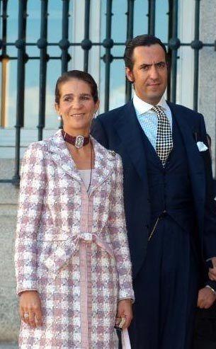 Infanta Elena de España y Jaime de Marichalar y Saenz de Tejada